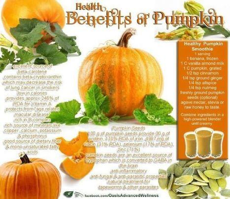 Pumpkin Juice Benefits   At Home Health and Beauty Tips   Scoop.it