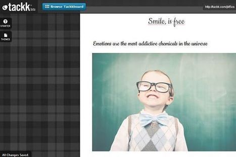 Tackk, herramienta online para crear boletines, carteles, panfletos y mucho más | Curiosidades de la Red | Scoop.it