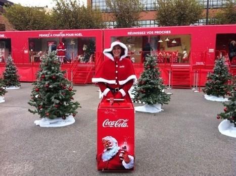 Coca-Cola fête Noël avec le retour de ses vitrines | streetmarketing | Scoop.it