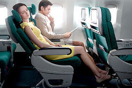 Rear-facing aircraft seats 'safer' | Interesting | Scoop.it
