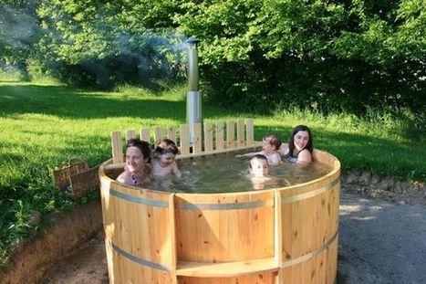 1 er bain, trop bien ! | Facebook | Ecolodge La Belle Verte, gîte et chambres d'hôtes en Bretagne | Scoop.it