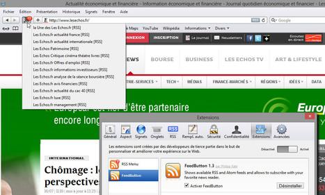 [Safari] FeedButton : une extension d'abonnement rapide plus efficace que RSS Menu | RSS Circus : veille stratégique, intelligence économique, curation, publication, Web 2.0 | Scoop.it