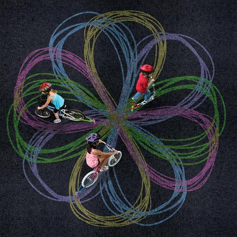 Chalktrail, pour dessiner... sur son vélo !   velocosm   Scoop.it