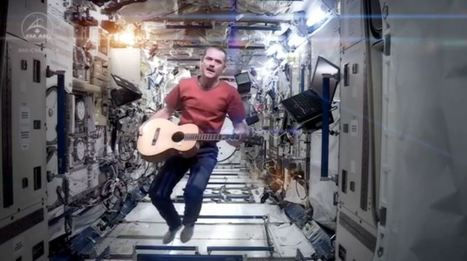 First music video in space is a real Space Oddity - The Sunshine Coast Daily | Music Video | Scoop.it
