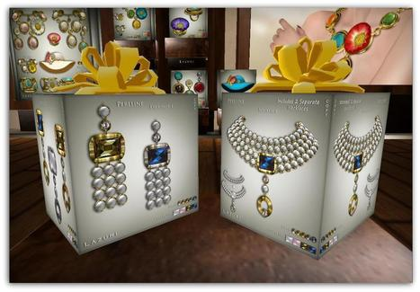Free Fancy Earrings + Pearls! | FreeBox - Free and Fantastic - Second Life | Scoop.it
