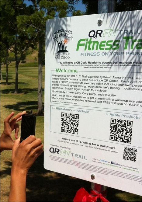 QR Code Fitness Trail | QR Codes in the News! | Scoop.it
