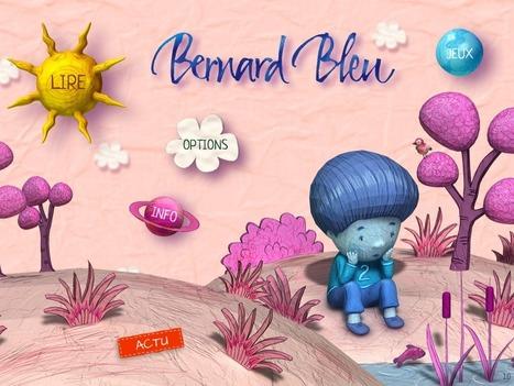 Livre interactif Enfant - Bernard Bleu   Square Igloo press review   Scoop.it