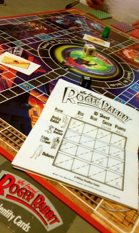 The Who Framed Roger Rabbit? board game reviewed | Games People Play | Scoop.it