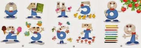 Material educativo: Nueva Colección: Cuentos para aprender los números | MDERIKJ EDUCACIÓN | Scoop.it