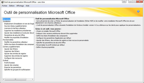 Personnaliser l'installation et la configuration d'Office | Time to Learn | Scoop.it