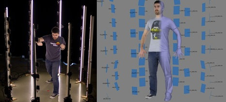 An Affordable Full Body Studio Grade 3D Scanner   tools   Scoop.it