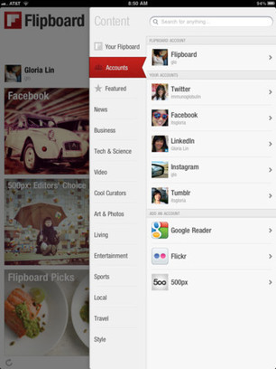 Flipboard for  iPad - create your own personal magazine   Social Magazines   Scoop.it