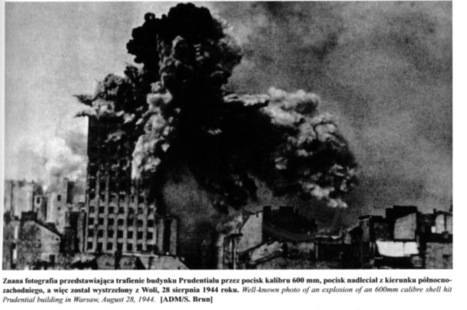 Prudential building, Warsaw, destroyed by a 600mm shell | VIM | Scoop.it