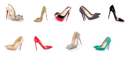 A woman was crazy high-heeled shoes brand Christian Louboutin | sexy Christian Louboutin shoes | Scoop.it