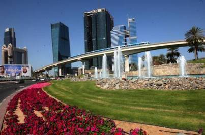 Flower-planting drive keeps Dubai in bloom - gulfnews.com   Reach Easily   Scoop.it