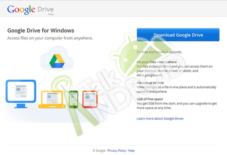 Google Drive: It's Back, With Screenshot Showing 5GB | Google Apps for Students | Scoop.it
