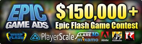 Epic Flash Game Contest – the biggest Flash contest ever – More than $150,000 in prizes - Emanuele Feronato | Everything about Flash | Scoop.it