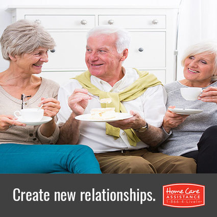 Social Connection Benefits for Elderly | Home Care Assistance of Denton County | Scoop.it