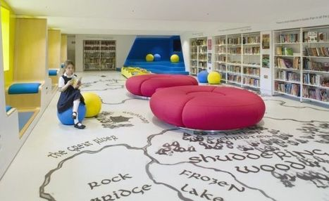 Imagination-Stimulating Libraries : children's library | innovative libraries | Scoop.it