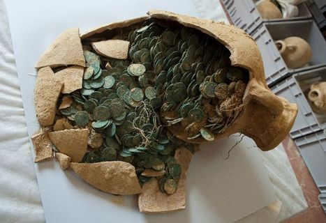600 kilos of Roman coins discovered in Spanish town | Archaeology, Culture, Religion and Spirituality | Scoop.it