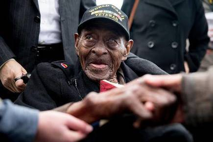 110-year-old WWII veteran from Louisiana dies | Wonderful World of History | Scoop.it