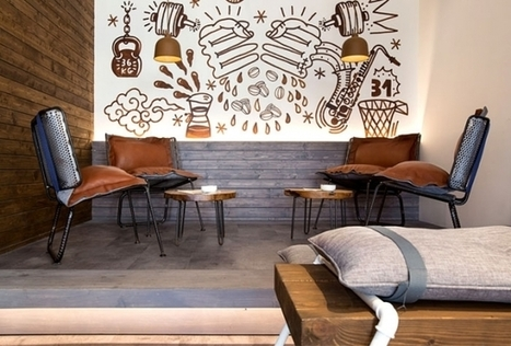 Rénovation du Drop Caffe à Belgrade en Serbie | AmenagementDesign | Scoop.it