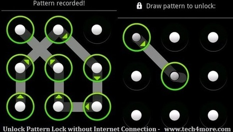 How to Unlock Pattern Lock without Internet Connection - Unlock Android | BOOST! Your Blog | Scoop.it