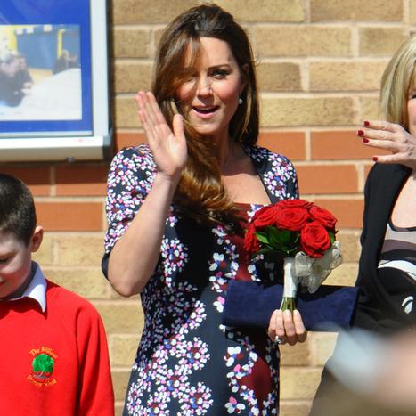 Kate Middleton enceinte : dévoile de vraies rondeurs de grossesse ... | Enkyos.com | Scoop.it