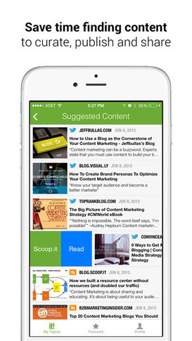 Mobile content curation: save (even more) time publishing content with the new Scoop.it iPhone App | Ukr-Content-Curator | Scoop.it