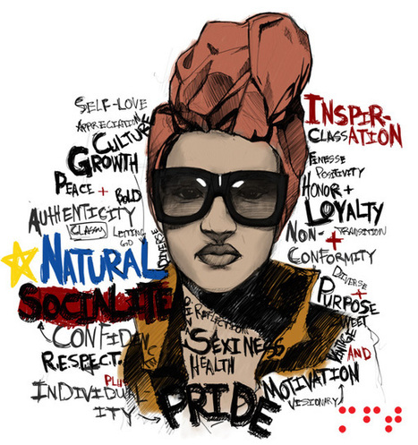 Natural-Socialite-Logo-005psweb1.jpg (600x639 pixels)   Contemporary African American Artists   Scoop.it