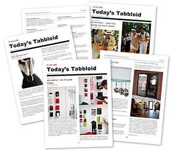 Tabbloid, créer un magazine automatiquement à partir de vos flux | Les mot de passe | Scoop.it