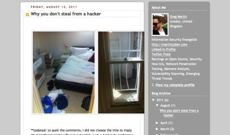 Hacker uses Facebook to find looted laptop | Riots in London | Scoop.it