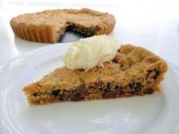 Chocolate Chip Cookie Pie Recipe | Decadent Dessert Recipes | Decadent Dessert Recipes | Scoop.it