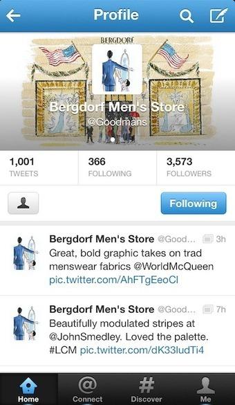 Bergdorf Goodman gives menswear own space on Instagram | Digital News | Scoop.it