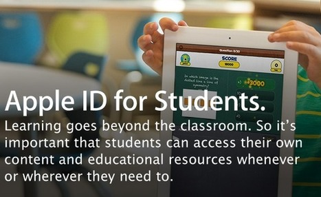 Apple now allows teachers to reset student Apple ID passwords ~ JerrySwiatek.com   iPads Changing the Way You Learn   Scoop.it