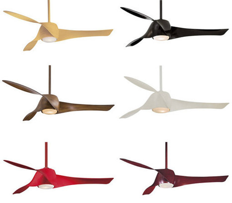 10 Modern Ceiling Fans - Design Milk | A. Perry Design Lounge | Scoop.it
