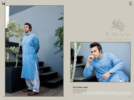 Ittehad Textiles IMan Collection 2014 For Summer | Fashion Blog | Scoop.it