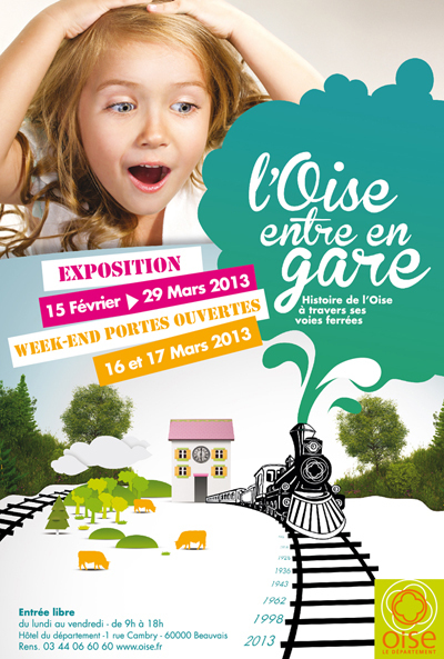 Exposition « L'Oise entre en gare » | Revue de Web par ClC | Scoop.it