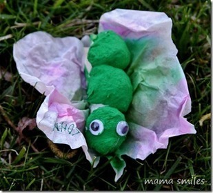 Caterpillar to Butterfly Craft - Mama Smiles - Joyful Parenting | Educational Fun for Kids | Scoop.it