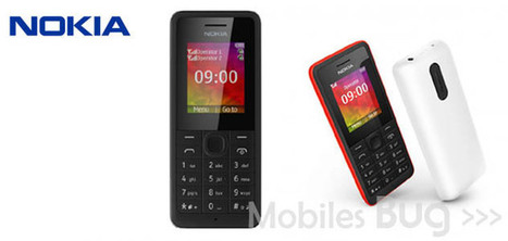 Nokia announces its latest 106 and 107 mobile handsets - Mobiles Bug | Mobiles Bug | Scoop.it