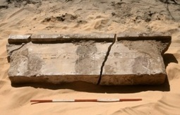 Amara West 2012: inscribed lintel discovered under rubble | Égypt-actus | Scoop.it