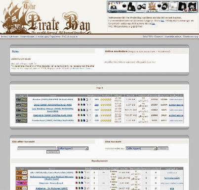 Pirate Bay Celebrates 9th Anniversary, a Brief History | TorrentFreak | What are some of the effects of internet piracy? | Scoop.it