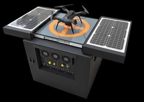 Nesting platform takes smart drone capabilities to new heights | Robots and Robotics | Scoop.it