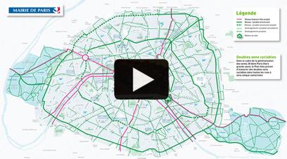 Paris se dote d'un nouveau Plan Vélo | Paris pratique, Paris futé, Paris festif... | Scoop.it
