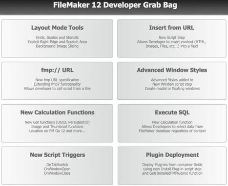 FileMaker 12 Developer Grab Bag file from NY Filemaker Dev group | test | Scoop.it