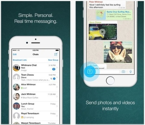 WhatsApp Adds Voice Calling to iOS App | MarketingHits | Scoop.it