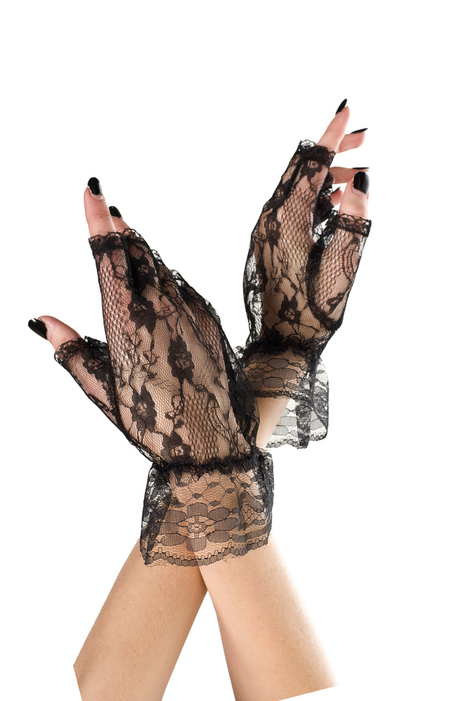 Lace fingerless glove - LegsAppeal.com | legsappeal | Scoop.it