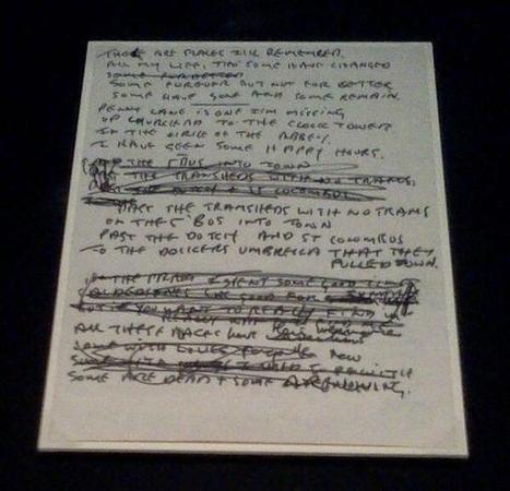 Twitter / History_Pics: John Lennon's original ...   Music   Scoop.it
