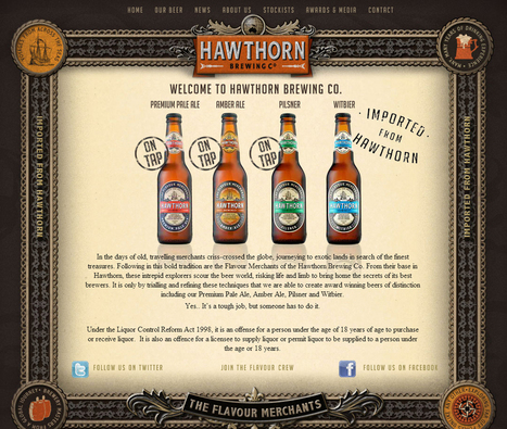 30 Beautiful Brewery Websites Built With WordPress | Management et promotion | Scoop.it