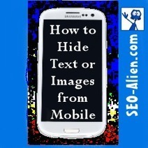 CSS/HTML Code to Hide Text, Images or Videos from a Mobile Phone | Allround Social Media Marketing | Scoop.it